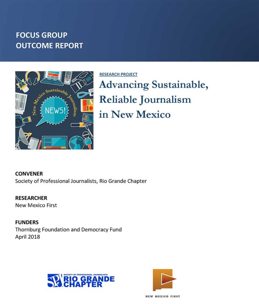 NM First report sustainable journalism
